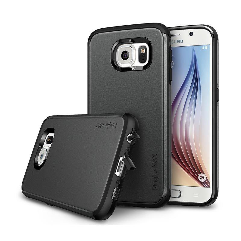 Rearth Ringke Slim SF Black Casing for Galaxy S6
