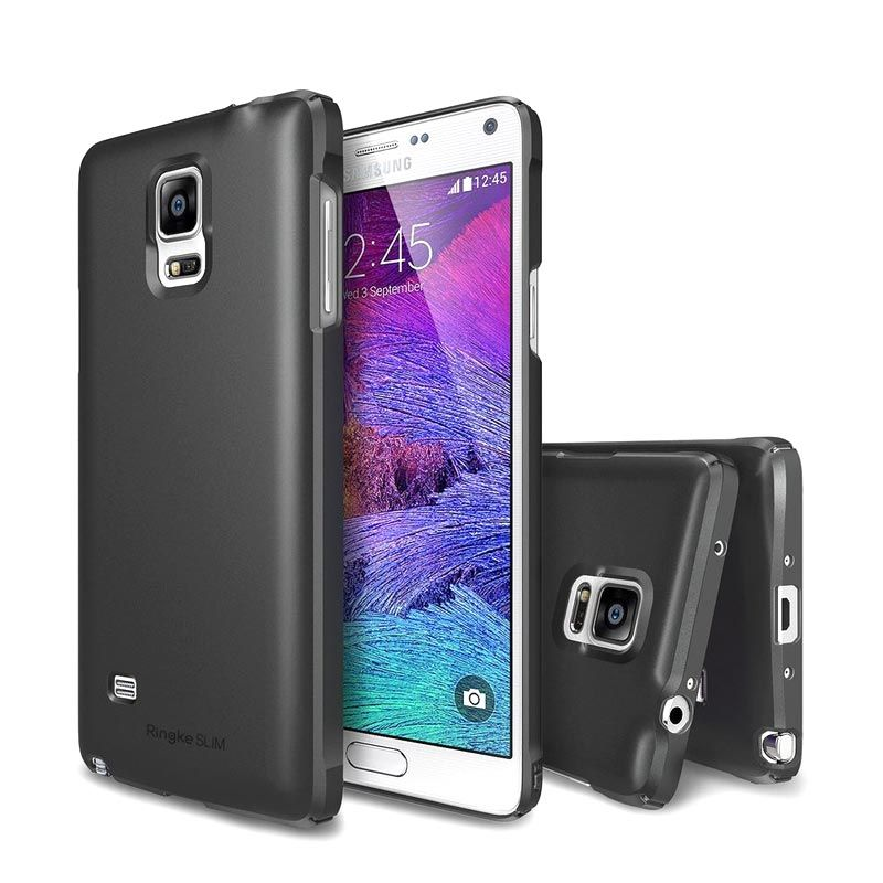 Rearth Slim Gunmetal Casing for Galaxy Note 4