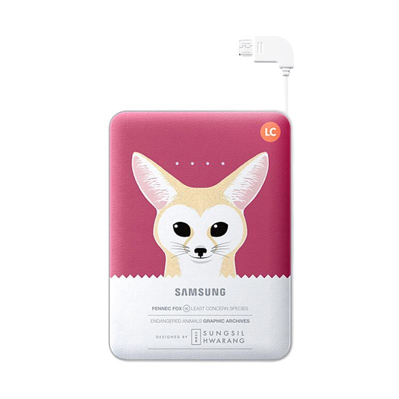 Samsung Animal Red Powerbank [8.400 mAh]