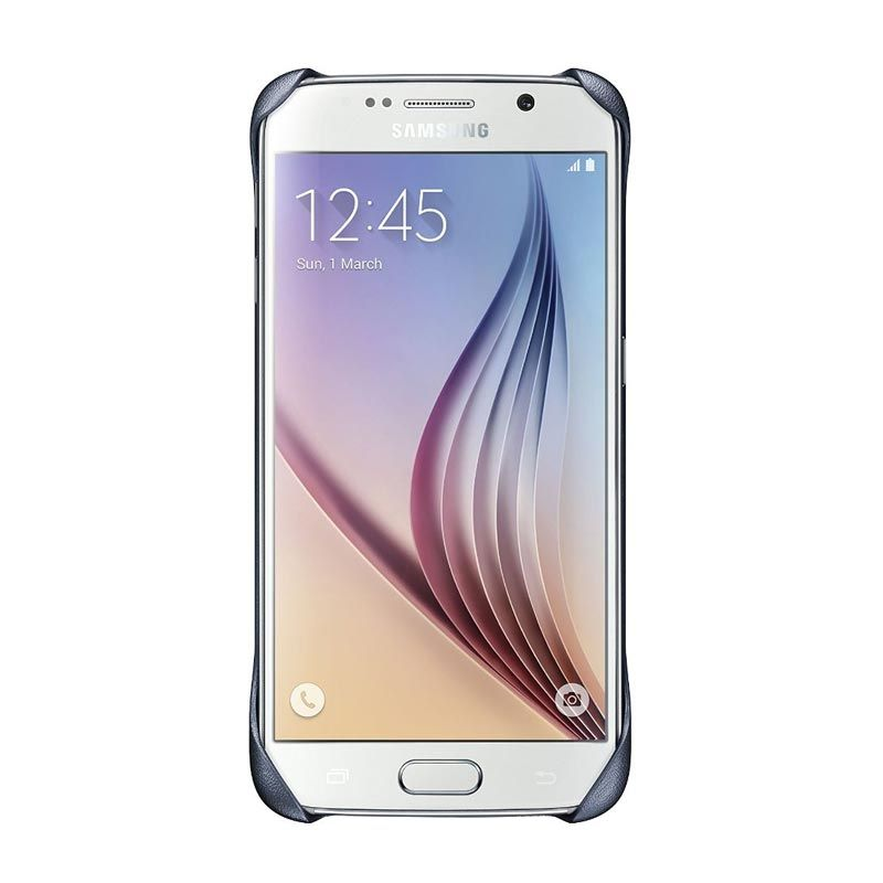 Samsung Clear Black Casing for Galaxy S6