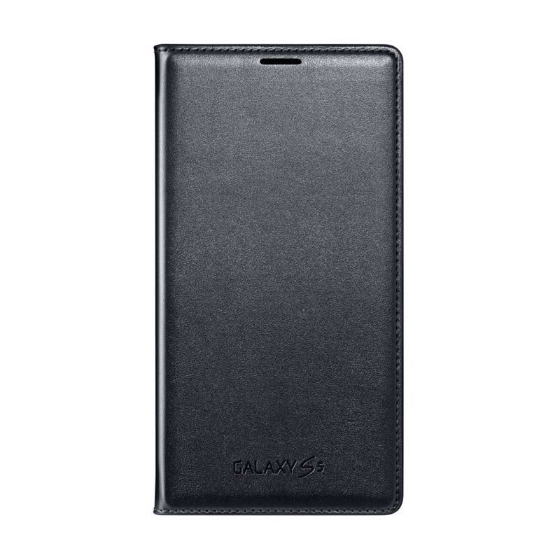 SAMSUNG Flip Wallet Black Casing for Galaxy S5