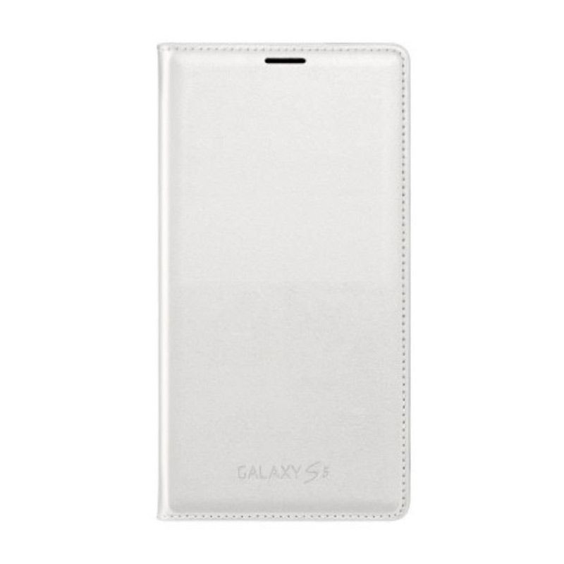 SAMSUNG Flip Wallet White Casing for Galaxy S5