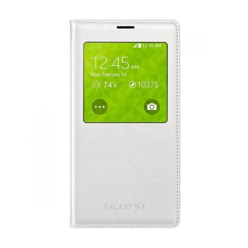 SAMSUNG S-View Cover White Casing for Galaxy S5