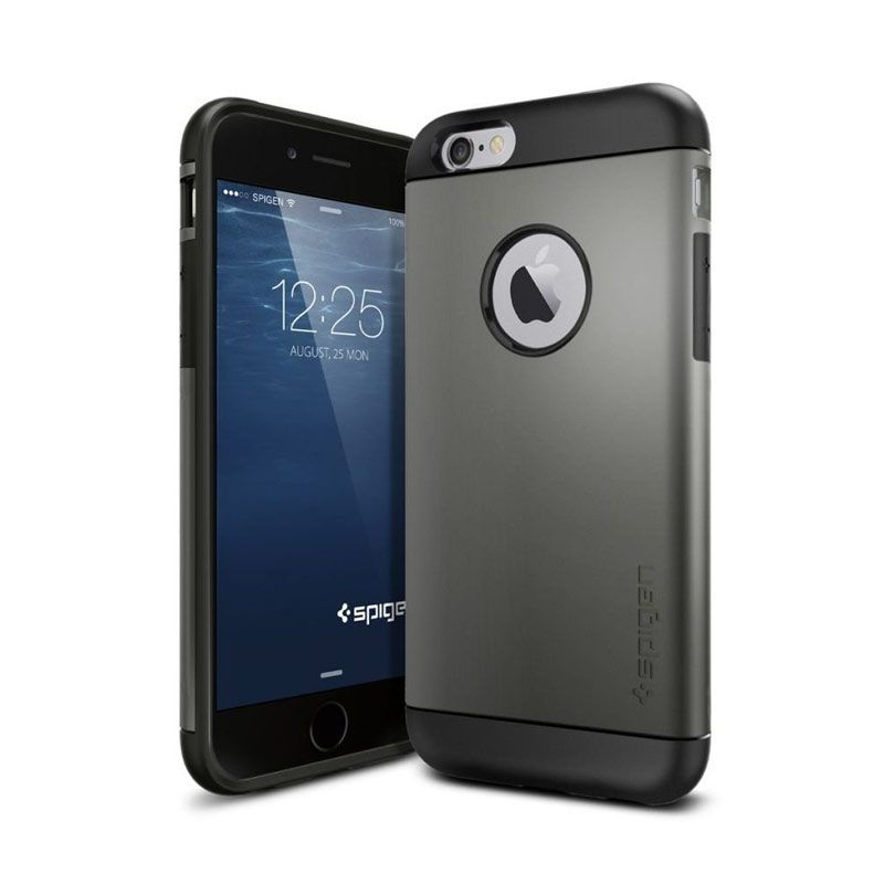 Spigen Slim Armor Series Gunmetal Casing for iPhone 6