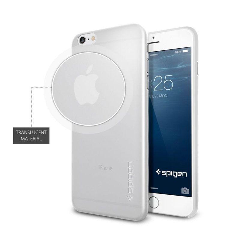 Spigen Air Skin Soft Clear Casing for iPhone 6 Plus [5.5 Inch]