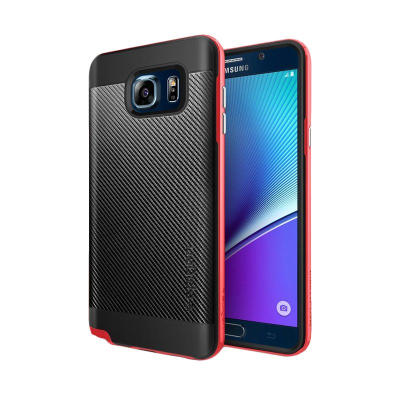 Spigen Neo Hybrid Carbon Dante Red Casing for Galaxy Note 5
