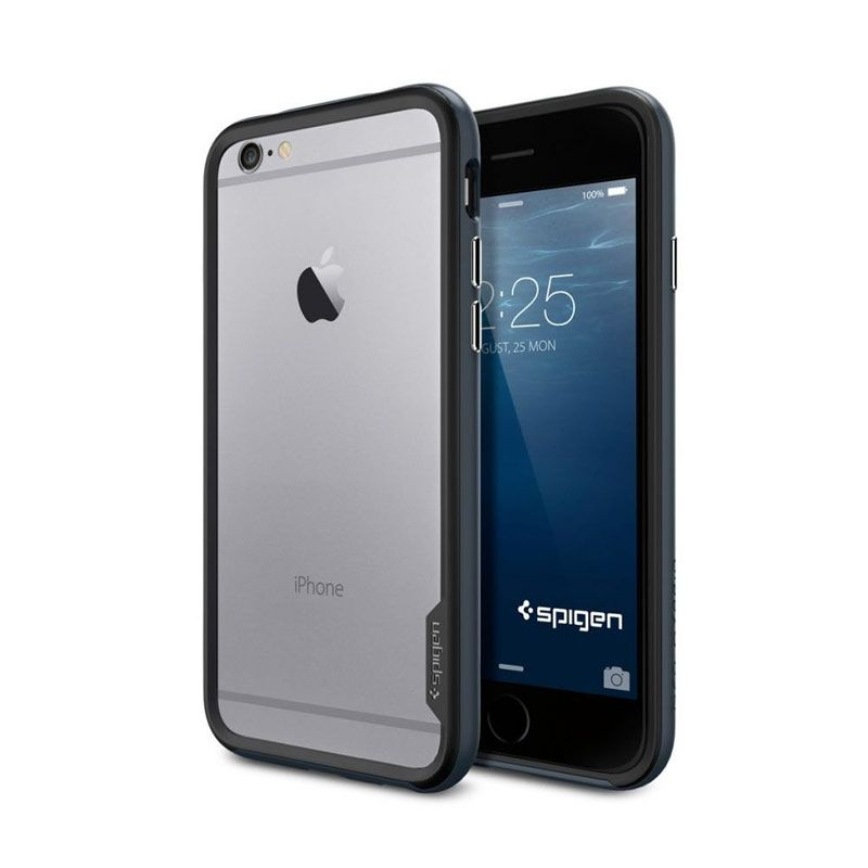 Spigen Neo Hybrid Series Gun Metal Casing for iPhone 6 Plus