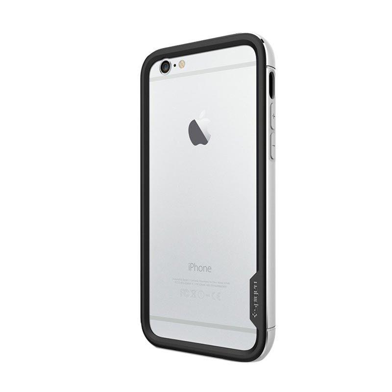 Spigen Neo Hybrid Ex Metal Silver Casing for iPhone 6 [4.7 Inch]