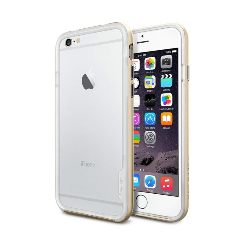 Spigen Neo Hybrid EX Series Champ Gold Casing for iPhone 6 [ 4.7 Inch]