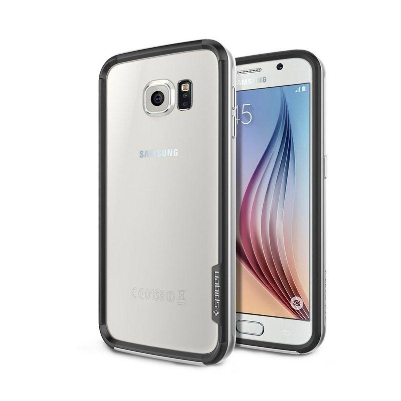 Spigen Neo Hybrid EX Silver Casing for Galaxy S6