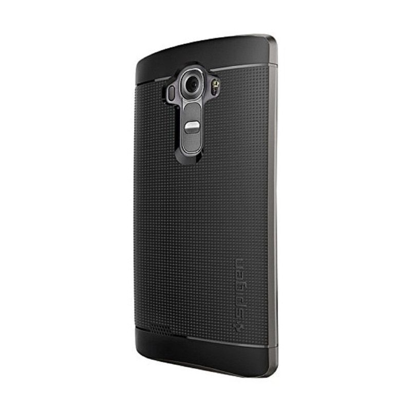 Spigen Neo Hybrid Gunmetal Casing for LG G4 [PET]