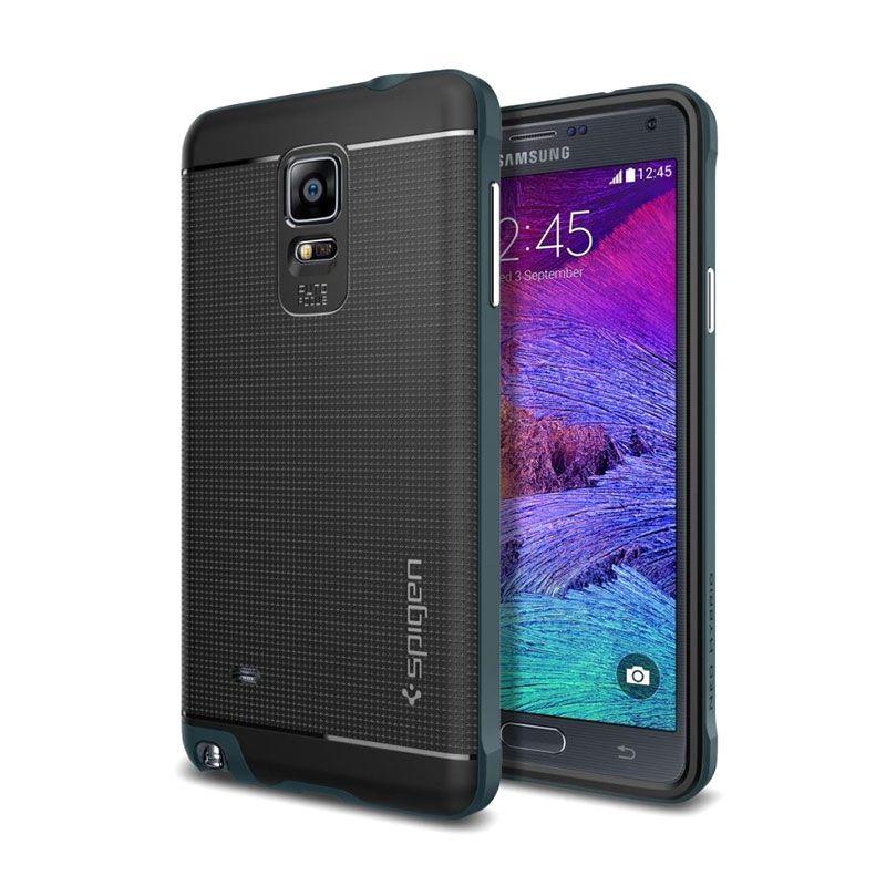 Spigen Neo Hybrid Metal Slate Casing for Galaxy Note 4