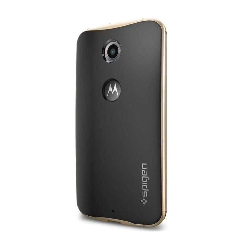 Spigen Neo Hybrid SGP11242 Champagne Gold Casing for Nexus 6