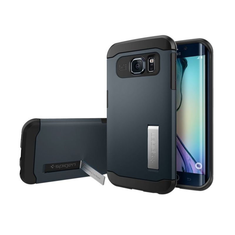 Spigen Slim Armor Metal Slate Casing for Galaxy S6 Edge
