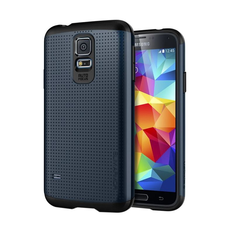 Spigen Slim Armor Metal Slate Casing for Samsung S5