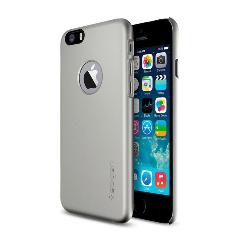 Spigen Thin Fit A Gunmetal Casing for iPhone 6 (4.7 Inch)