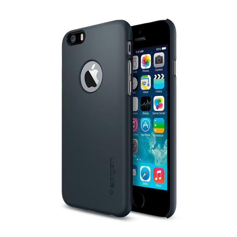 Spigen Thin Fit A Metal Slate Casing for iPhone 6 [4.7 Inch]