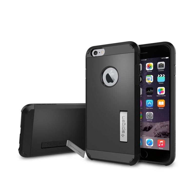 Spigen Tough Armor FX Series SGP11278 Smooth Black Casing for iPhone 6