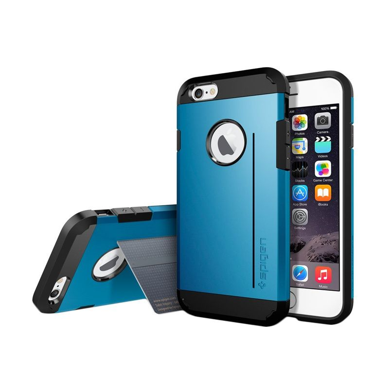 Spigen Tough Armor S Electric Blue Casing for iPhone 6 [4.7 Inch]