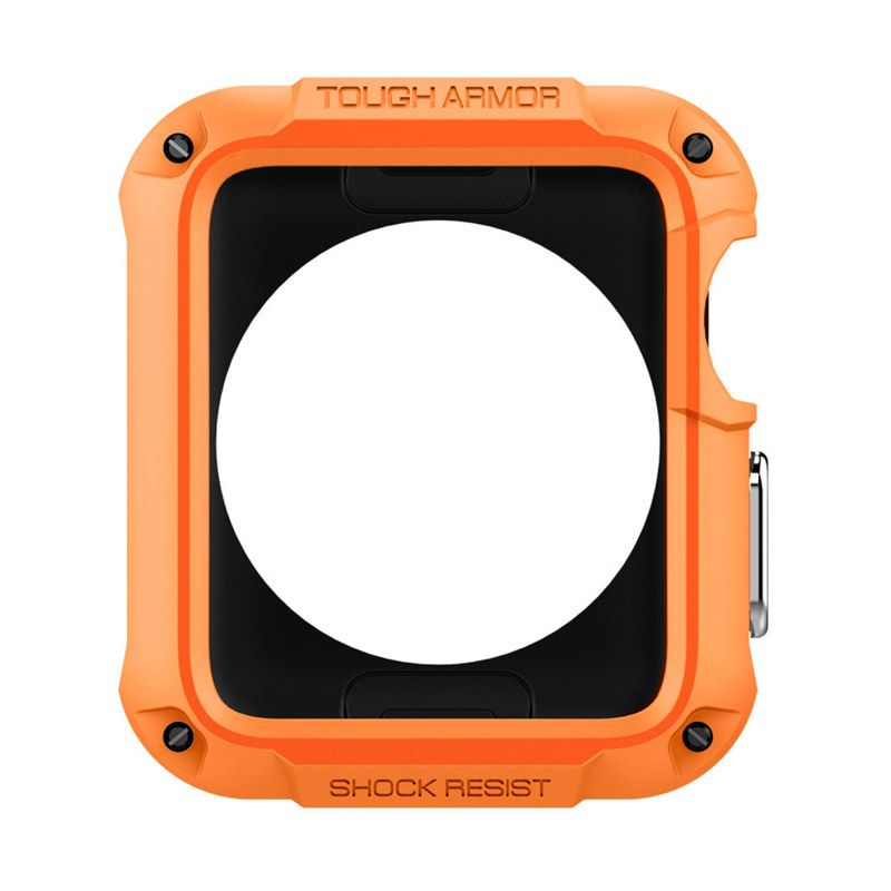 Spigen Tough Armor Tangerine Tango Casing for Apple Watch [42mm]