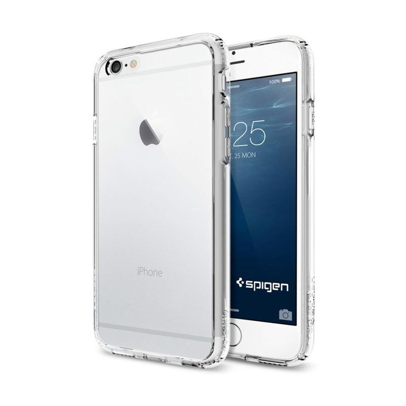 Spigen Ultra Hybrid Series Crystal Clear Casing for iPhone 6