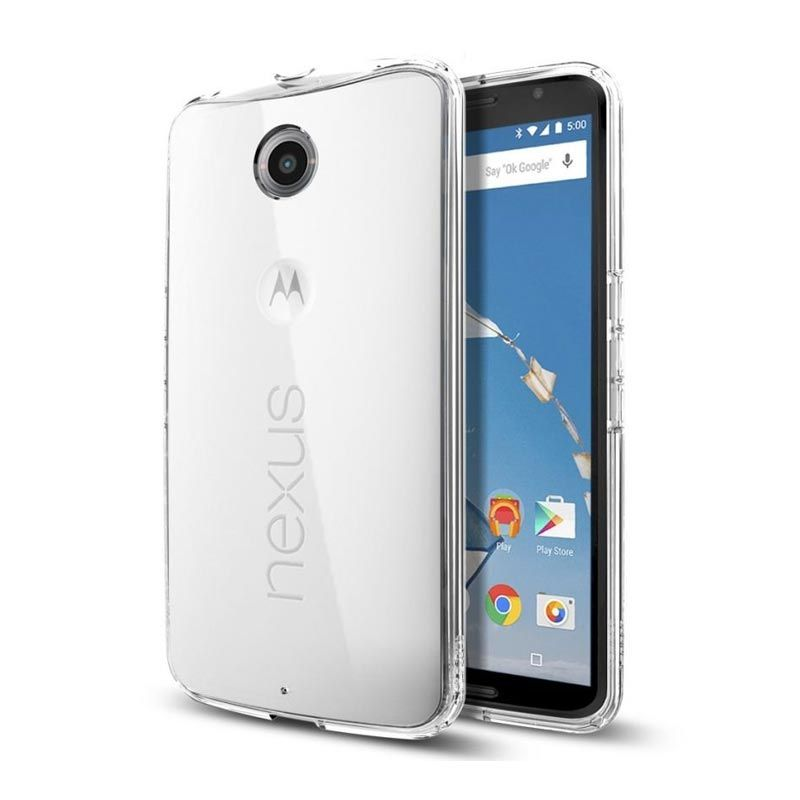 Spigen Ultra Hybrid SGP11246 Crystal Clear Casing for Nexus 6