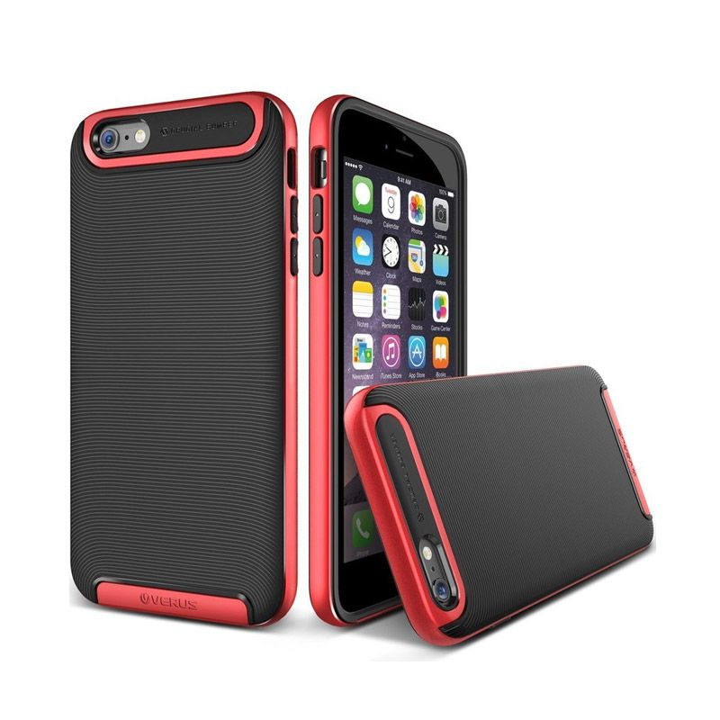 VERUS Crucial Bumper Crimson Red Casing for iPhone 6 [4.7
