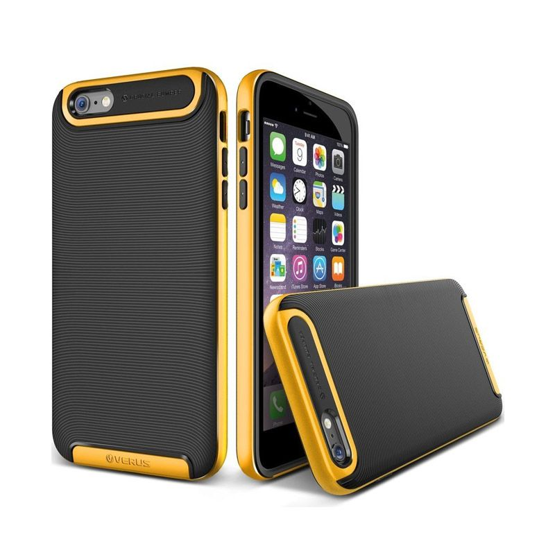 VERUS Crucial Yellow Bumper Casing for iPhone 6 Plus [5.5