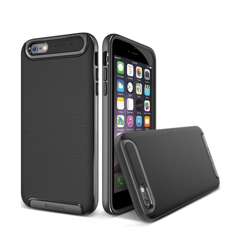 VERUS Crucial Bumper Steel Silver Casing for iPhone 6 [4.7