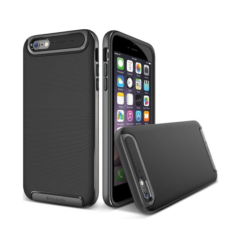 VERUS Crucial Bumper Steel Silver Casing for iPhone 6 Plus [5.5