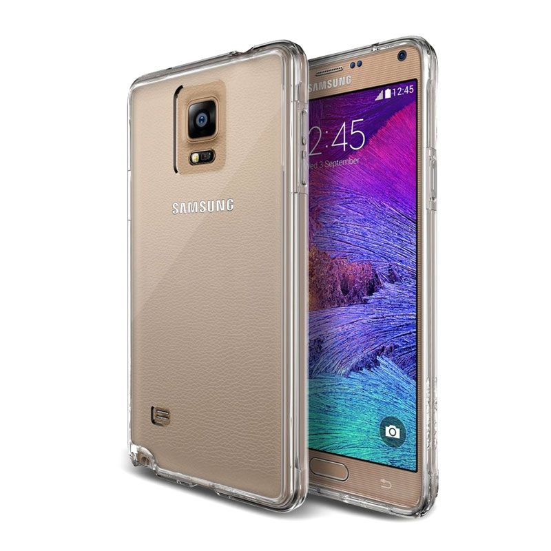 Verus Crystal Mixx Transparan Casing for Samsung Note 4