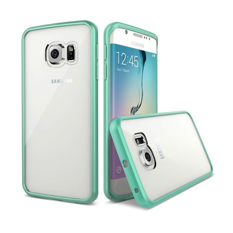 VERUS Crystal MIXX Mint Casing for Galaxy S6 Edge