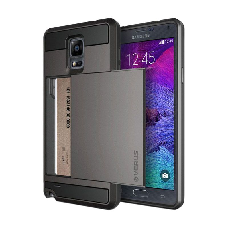 Verus Damda Slide Grey Casing for Galaxy Note 4