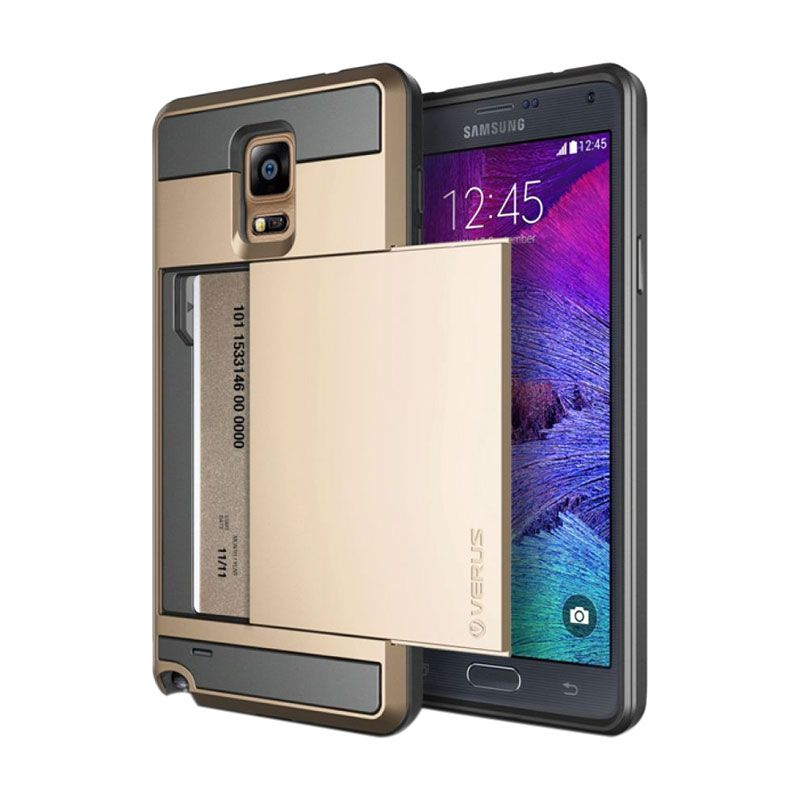 harga Verus Damda Slide Gold Casing for Galaxy Note 4 Blibli.com