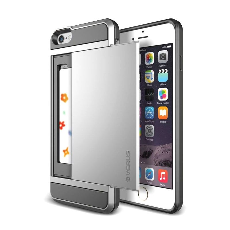Verus Damda Slide Silver Casing for iPhone 6 Plus