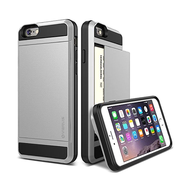 Verus Damda Slide Silver Casing for iPhone 6
