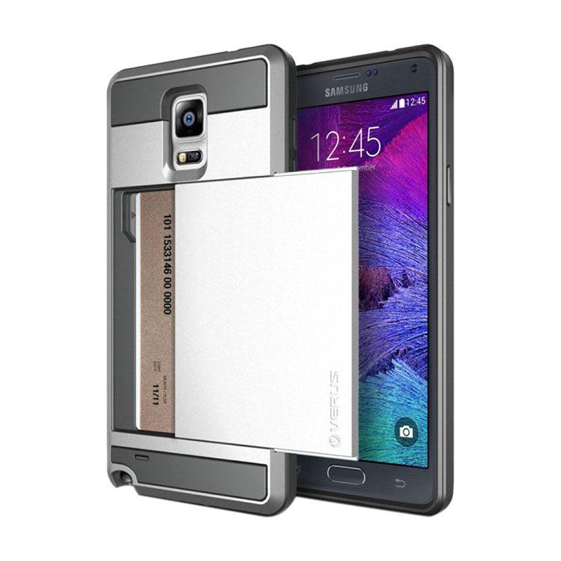 Verus Damda Slide Silver Casing for Galaxy Note 4