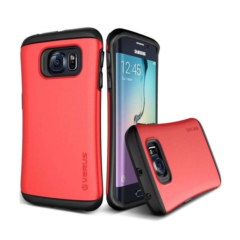 VERUS Hard Drop Crimson Red Casing for Galaxy S6