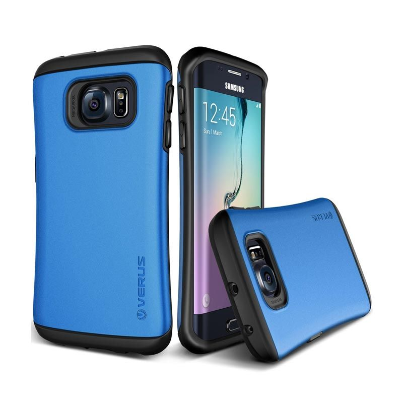 VERUS Hard Drop Electric Blue Casing for Galaxy S6