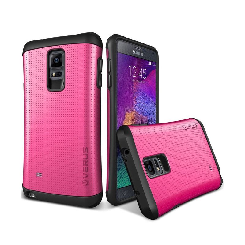 VERUS Hard Drop Former THOR Hot Pink Casing for Galaxy Note 4