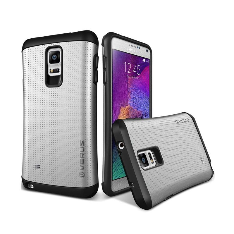 VERUS Hard Drop Former THOR Silver Casing for Galaxy Note 4