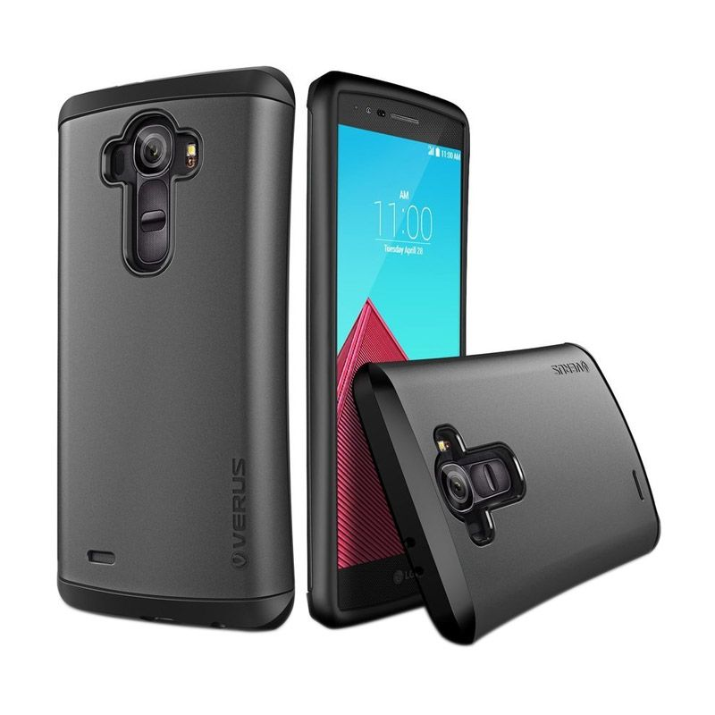 Verus Drop Grey Hard Case Casing for LG G4