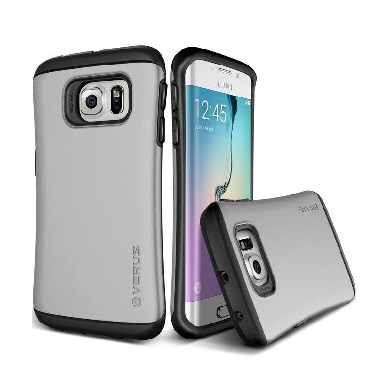 VERUS Hard Drop Light Silver Casing for Galaxy S6 Edge