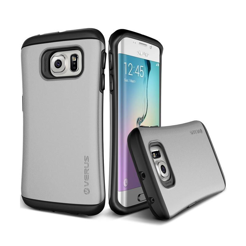 VERUS Hard Drop Light Silver Casing for Galaxy S6