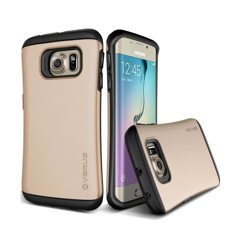 VERUS Hard Drop Shine Gold Casing for Galaxy S6 Edge