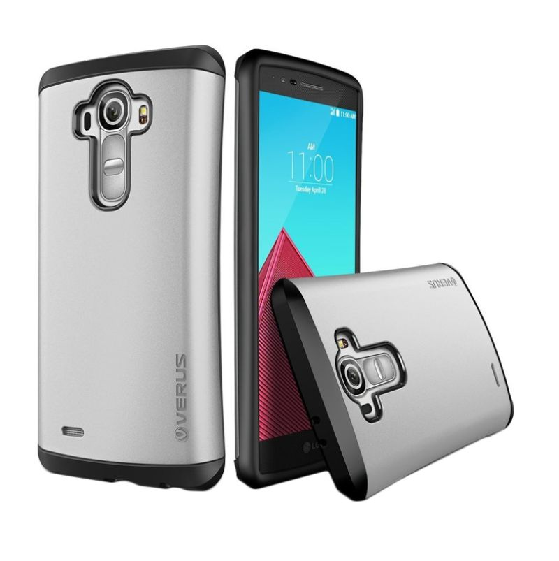 Verus Drop Silver Hard Casing for LG G4