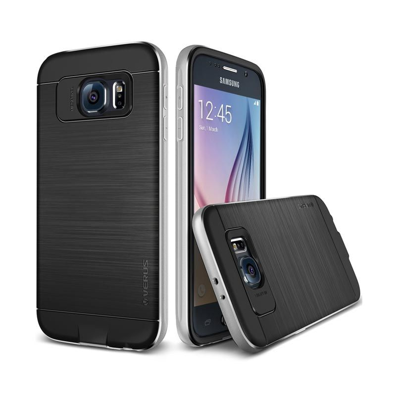 Verus Iron Shield Silver Casing for Galaxy S6