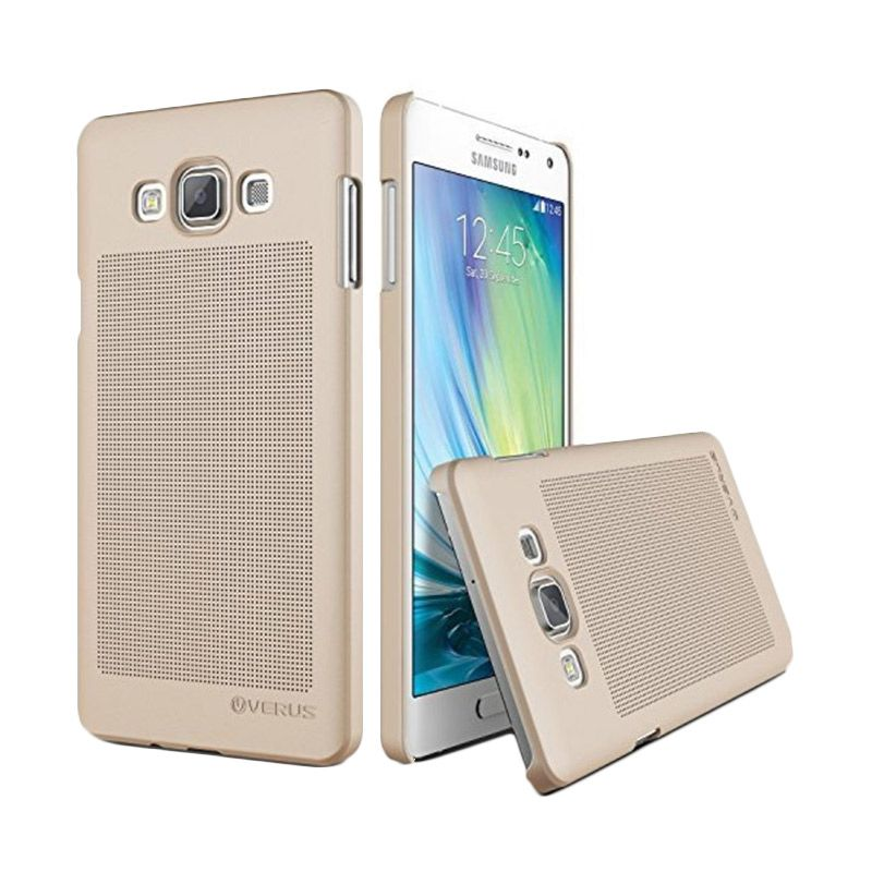Verus Slim Dot Shine Gold Casing for Galaxy A5