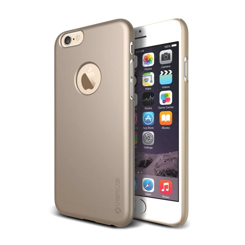 Verus Super Slim Gold Casing for iPhone 6