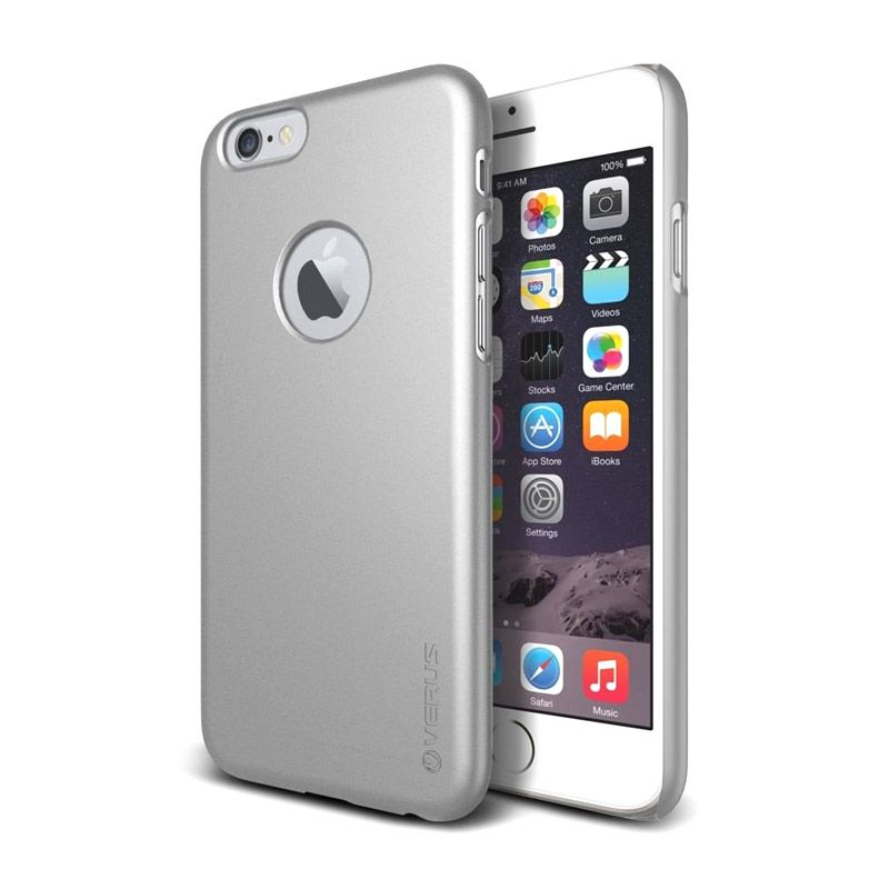Verus Super Slim Silver Casing for iPhone 6